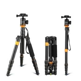 Andoer QZ-278 Foldable Detachable Video Tripod Monopod Ball Head Photography for Canon Nikon Sony Panasonic DSLR Digital Camera Camcorder