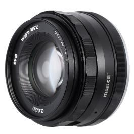MEIKE MK-E-50-2.0 50mm F2.0 Prime Lens Manual Focus APS-C Camera Lens for Sony E Mount NEX3 NEX5 NEX6 NEX7 A5000 A5100 A6000 A6100 A6300 ILDC Mirrorless Camera