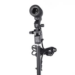 Andoer E27 Bulb Holder Socket Flash Swivel Bracket Photo Light Lamp Mount US Plug