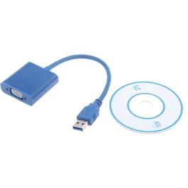 Andoer USB 3.0 to VGA Multi-display Adapter Converter External Video Graphic Card