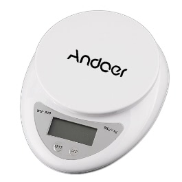 Andoer® 5Kg Kitchen Electronic Scale